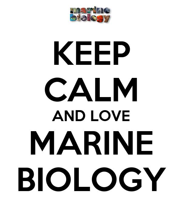 KEEP CALM AND LOVE MARINE BIOLOGY Poster | DIZZY | Keep ...