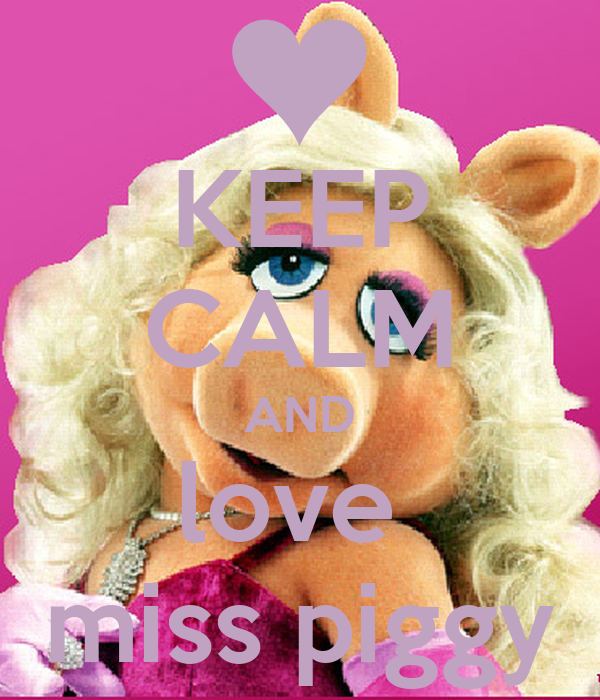 I love you piggy