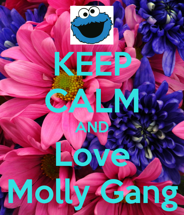 KEEP CALM AND Love Molly Gang - KEEP CALM AND CARRY ON ...