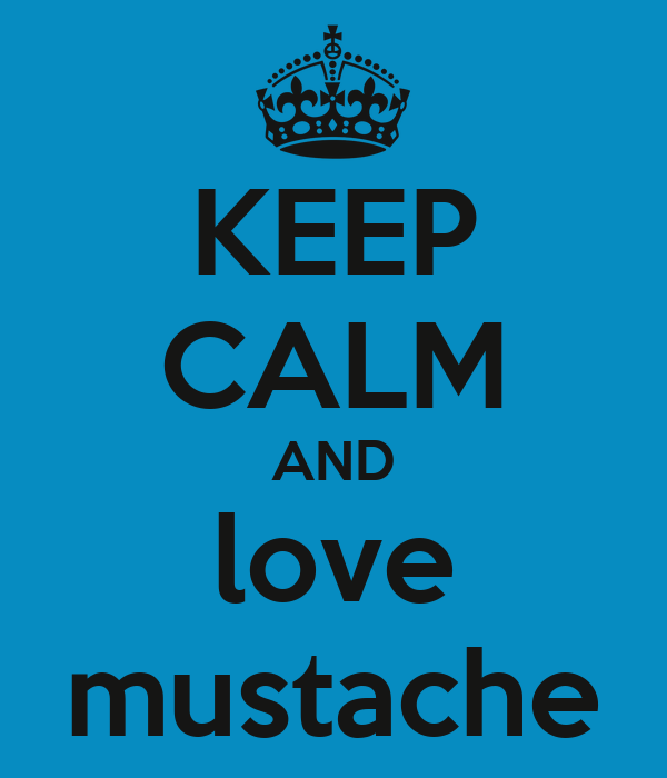 Blue Mustache Wallpaper KeepBlue Mustache Wallpaper