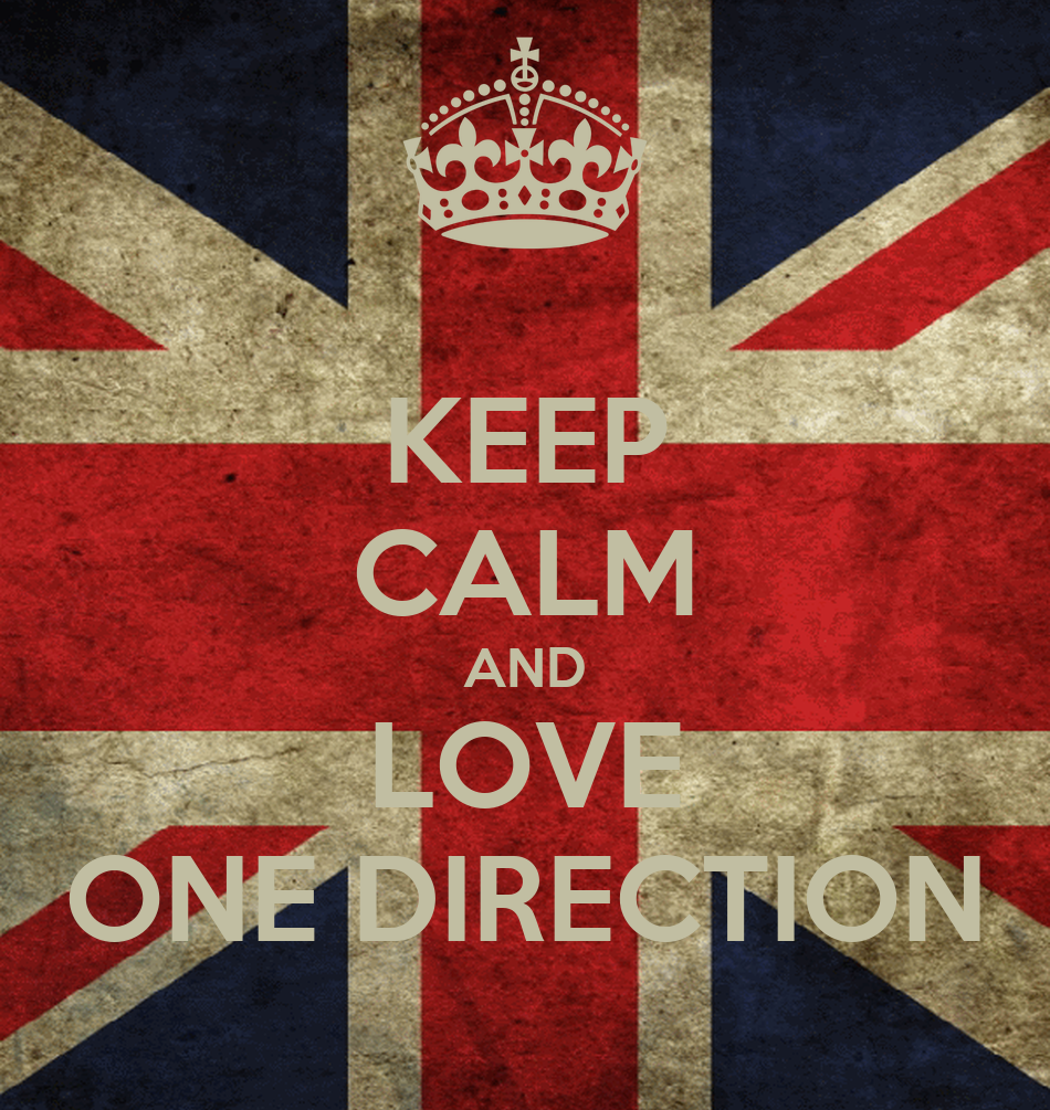 Keep Calm And Love One Direction Poster Annabelle