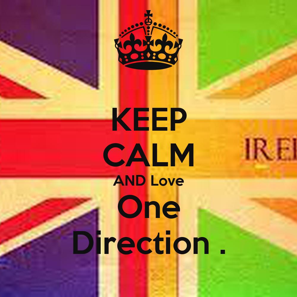 Keep calm and love one direction hoodie