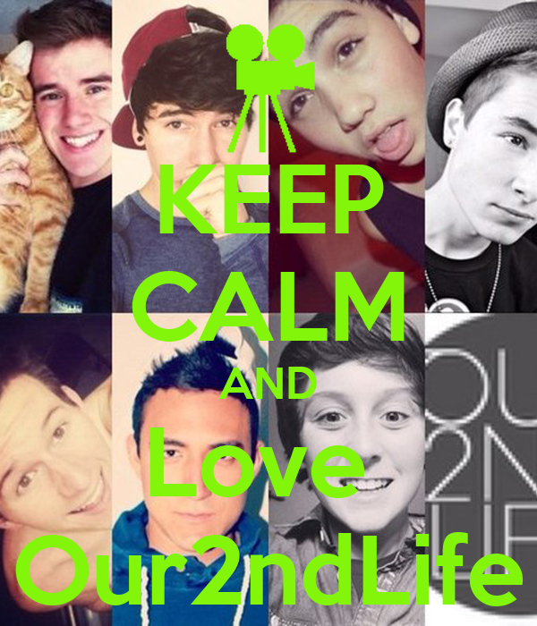 KEEP CALM AND Love Our2ndLife - KEEP CALM AND CARRY ON ...