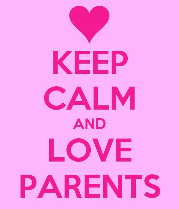 calm parent