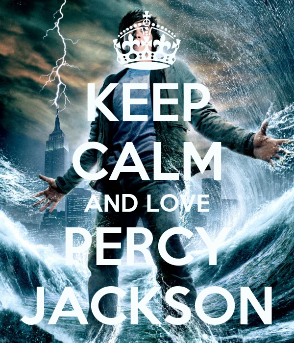 KEEP CALM AND LOVE PERCY JACKSON Poster Bruna Keep Calm O Matic