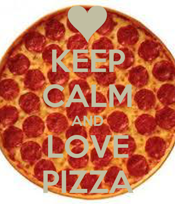 keep calm and love pizza poster diana keep calm o matic. Black Bedroom Furniture Sets. Home Design Ideas
