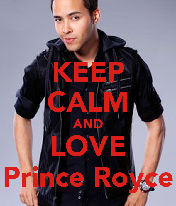 Keep Calm And Love Prince Royce Wallpaper Bigking Keywords And Pictures