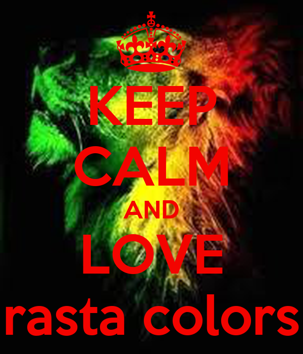 Rasta Colors One Love