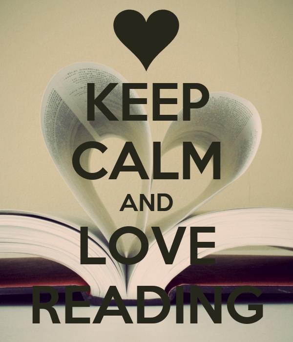 KEEP CALM AND LOVE READING Poster | pHILANI | Keep Calm-o