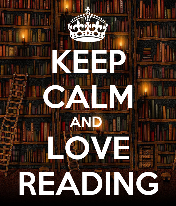 KEEP CALM AND LOVE READING Poster | FLABBLE | Keep Calm-o