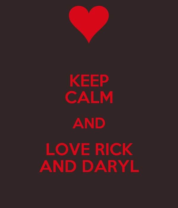 daryl and rick relationship quotes