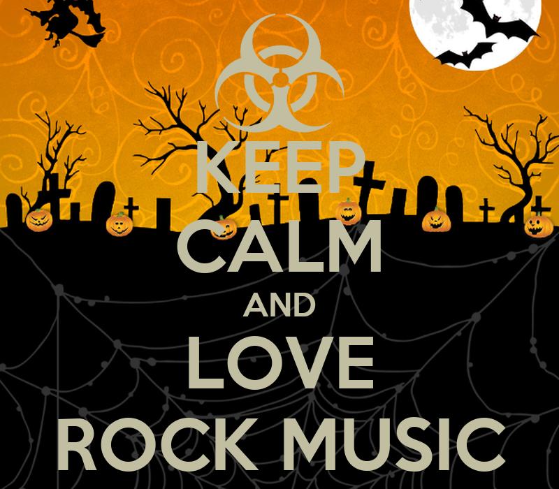 KEEP CALM AND LOVE ROCK MUSIC