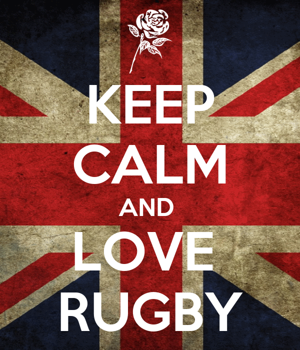 KEEP CALM AND LOVE RUGBY Poster | AA | Keep Calm-o-Matic