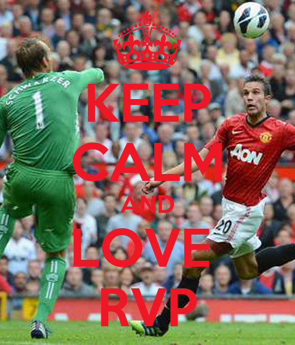 KEEP CALM AND LOVE  RVP