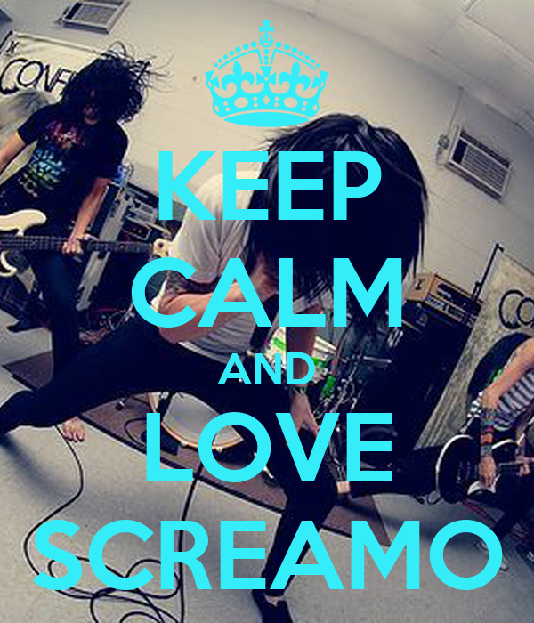 Emo Screamo Wallpaper Keep Calm And Love Screamo