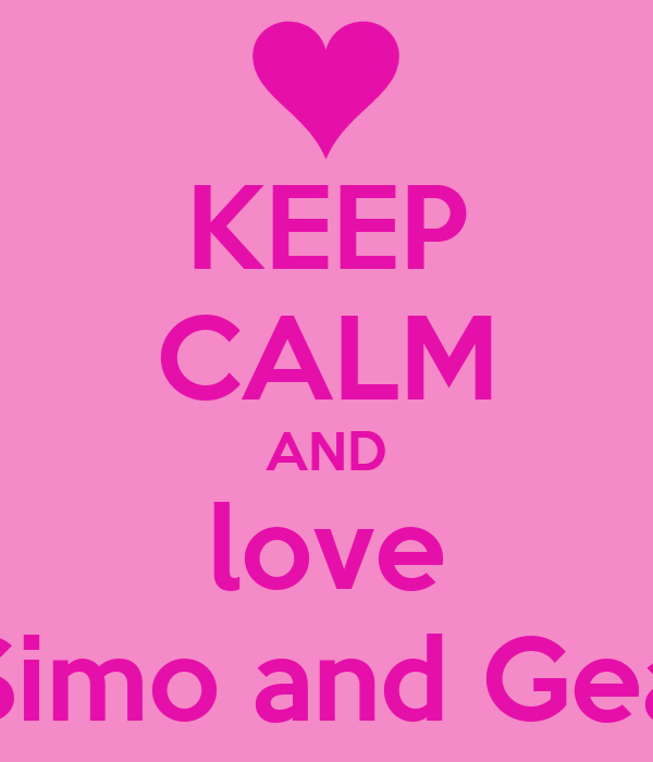 Keep calm and love simo and gea poster simo and gea keep calm o keep calm and love simo and gea thecheapjerseys Choice Image