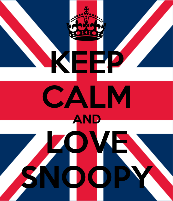 KEEP CALM AND LOVE SNOOPY Poster | Emma Walker | Keep Calm ...  KEEP CALM AND L...