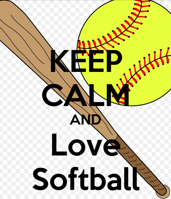 keep calm and love softball poster naja keep calmomatic
