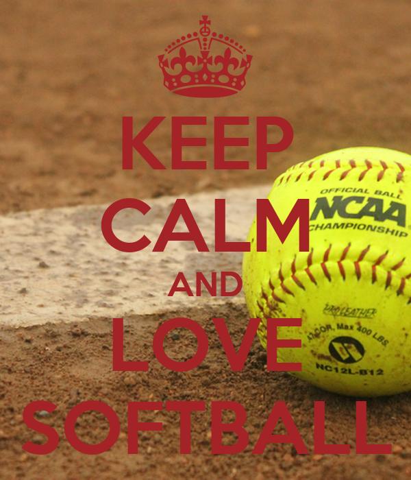 keep calm and love softball poster amanda keep calmo