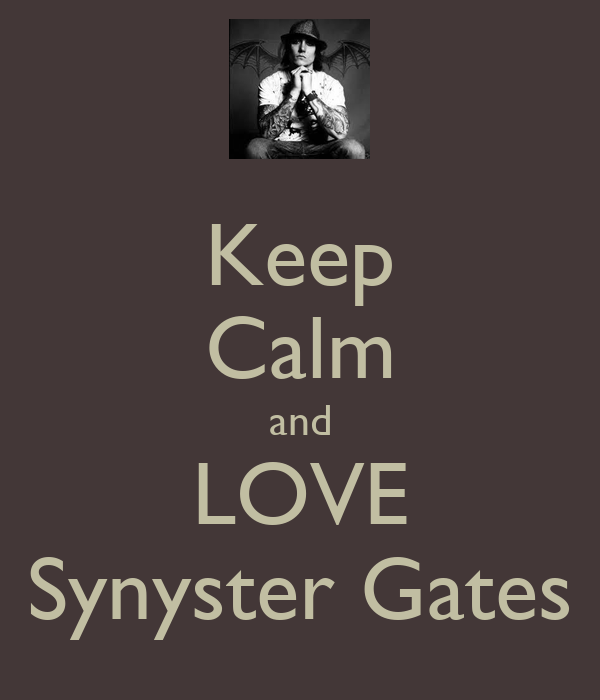 keep calm and love syn gates Quotes