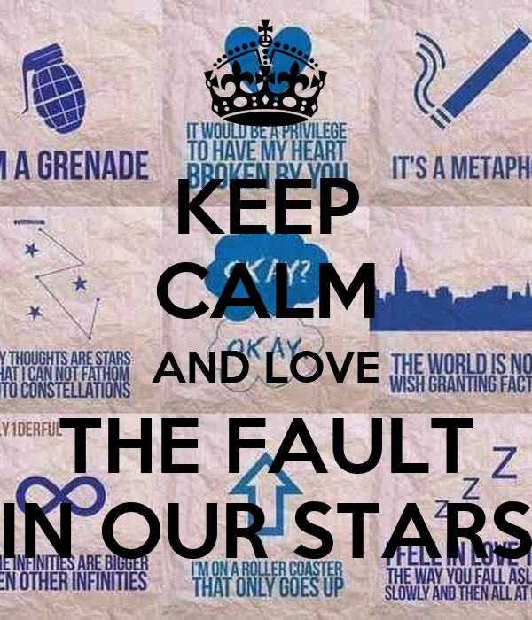 the fault in our stars summary pdf