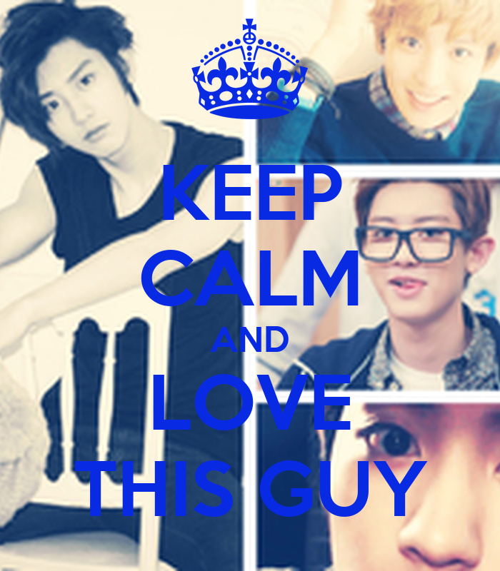 KEEP CALM AND LOVE THIS GUY Poster | anneeunicelaguna9 ...