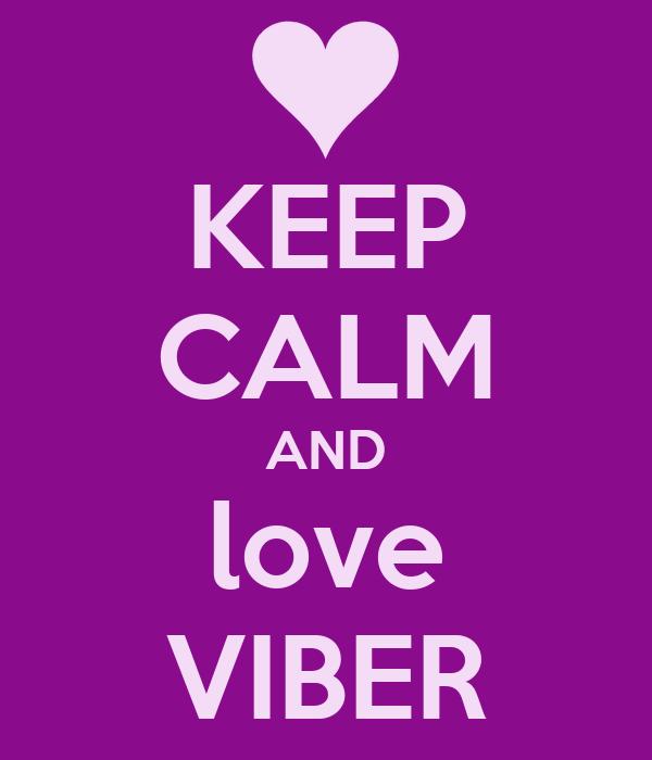 i love viber