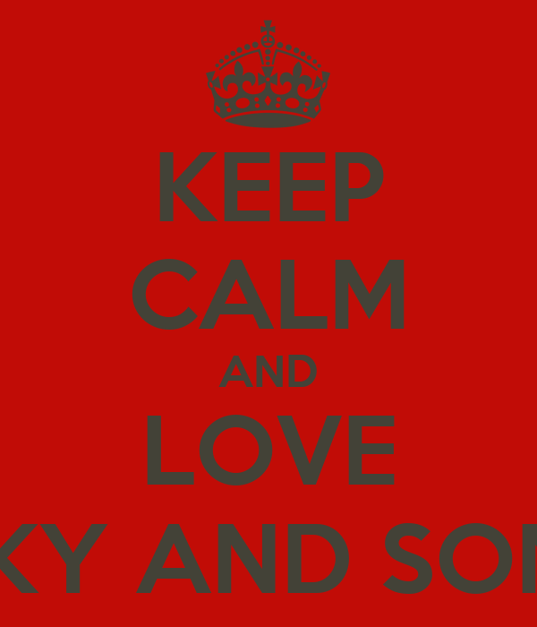 KEEP cALM AND LOVE VIcKY AND SONNY - KEEP cALM AND cARRY ...