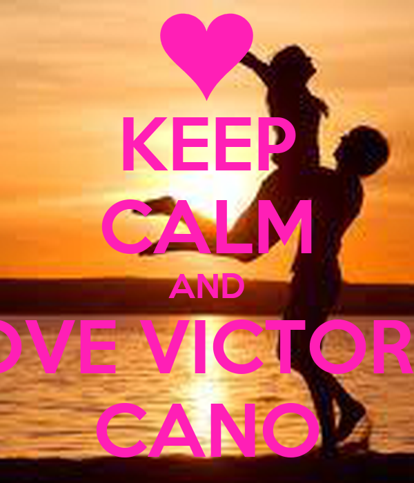 Keep calm and love victoria cano poster victoria cano for Victoria cano