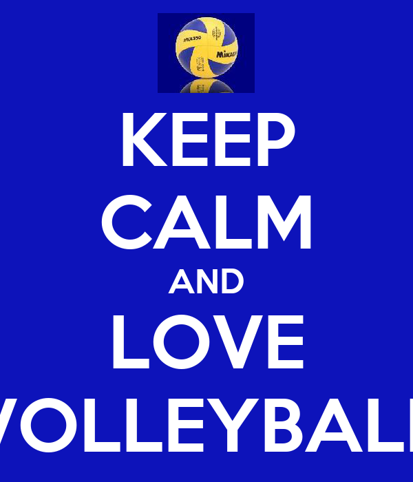 Pin Love Volleyball Fa...