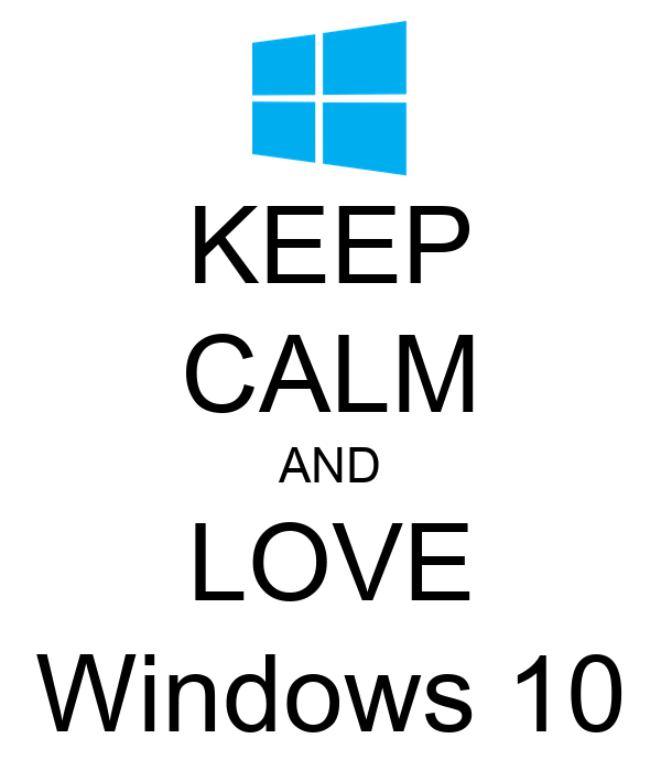windows 10 poster
