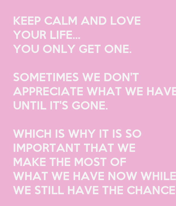 Why love is important in life