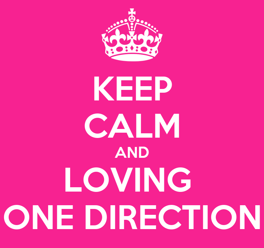 Keep Calm And Loving One Direction Poster Lucia