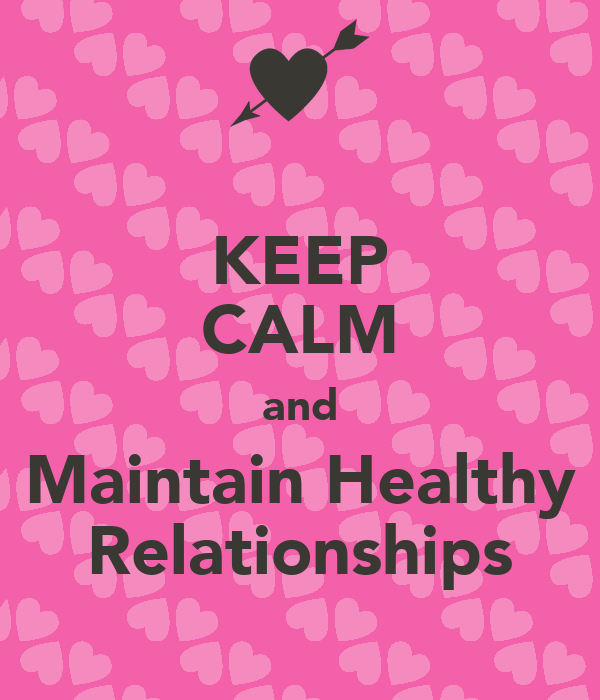 how to build and maintain relationships