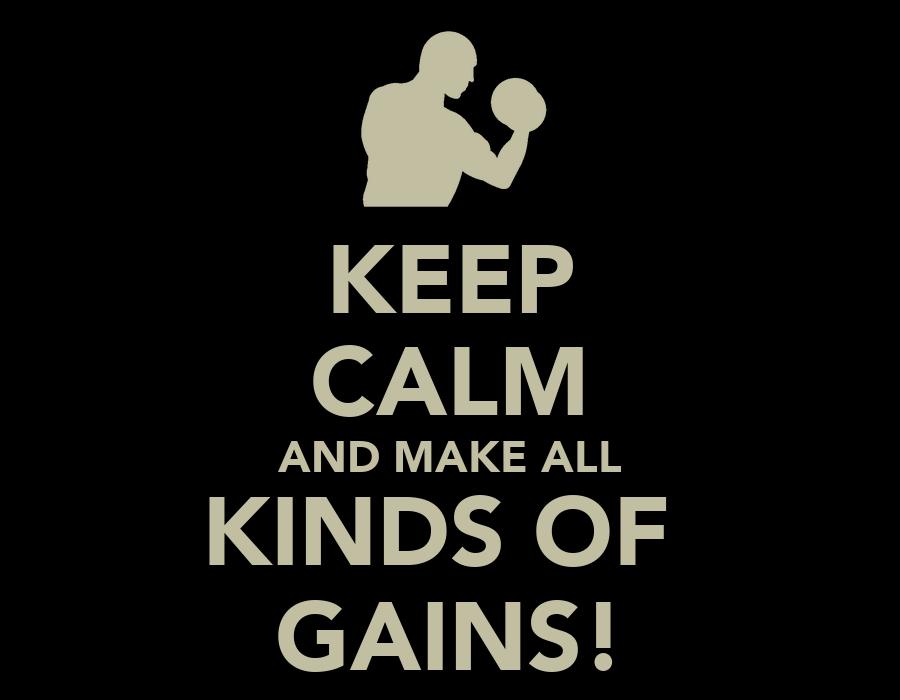 GOLDEN RULE for gains of all kind !!!... - Marck Goran ...