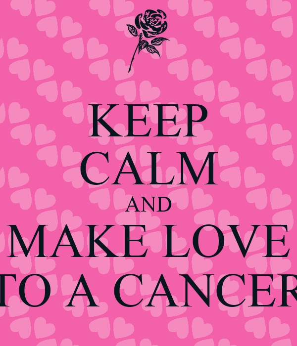 how to keep a cancer man in love