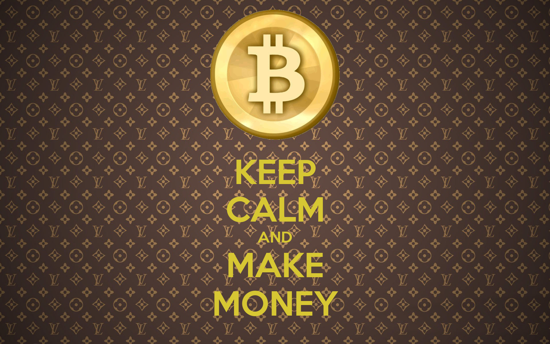 KEEP CALM AND MAKE MONEY Poster | Toby