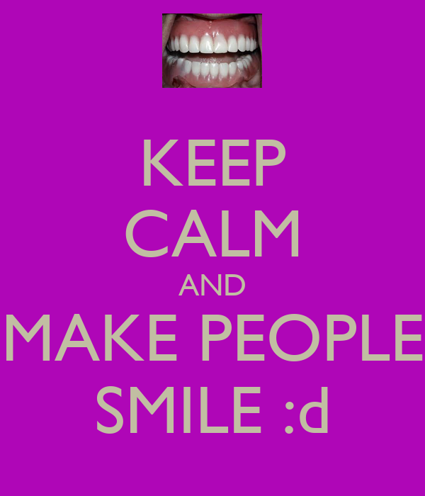 Make people smile quotes like success