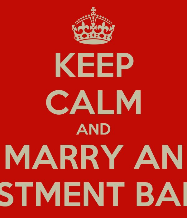 who do investment bankers marry