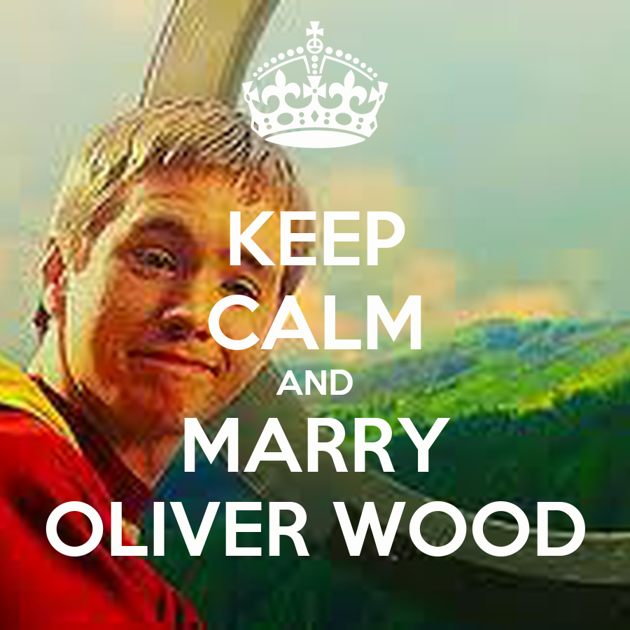 KEEP CALM AND MARRY OLIVER WOOD Poster | Daria | Keep Calm-o-Matic