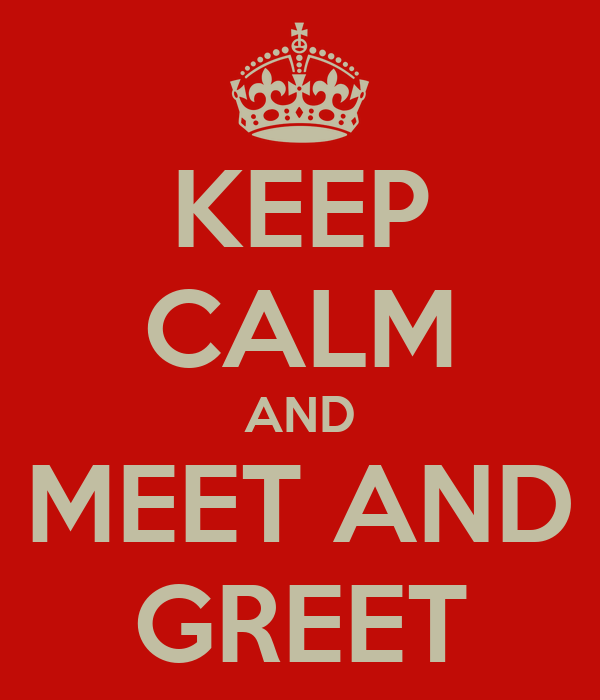 keep calm and meet and greet poster amanda keep calm o matic. Black Bedroom Furniture Sets. Home Design Ideas