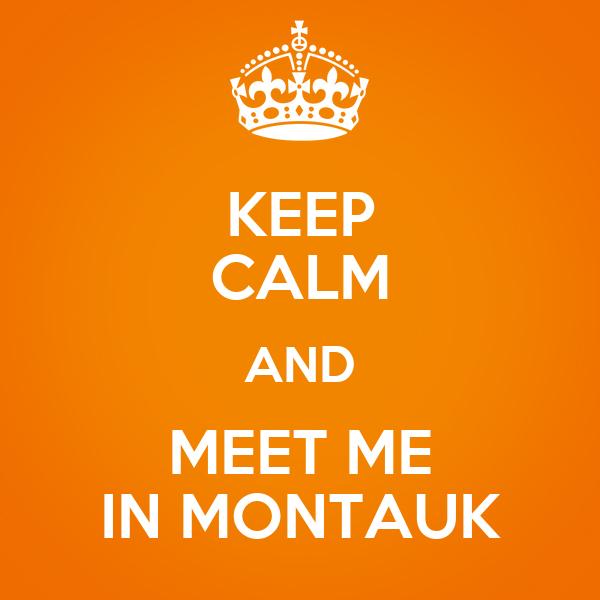 meet me in montauk mug