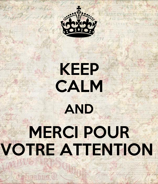 keep calm and merci pour votre attention poster marwane el allam keep calm o matic. Black Bedroom Furniture Sets. Home Design Ideas