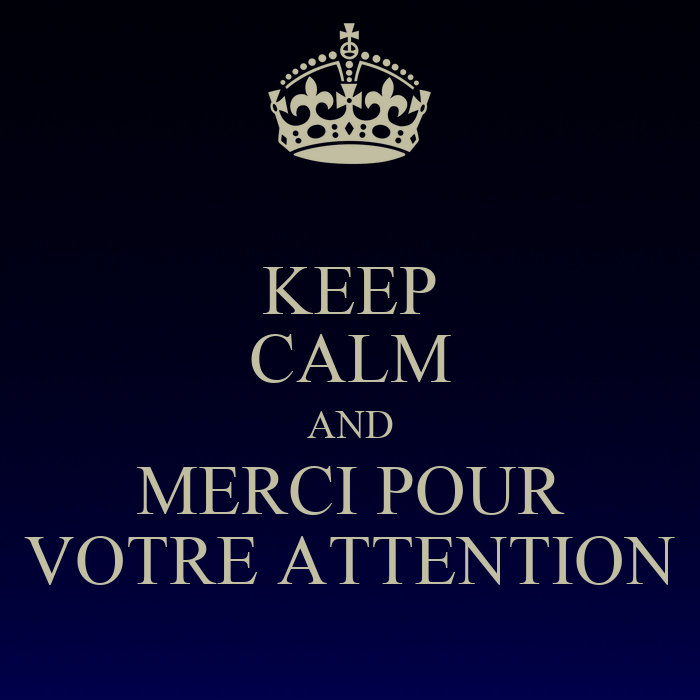 Keep Calm And Merci Pour Votre Attention Poster Jonjol Keep