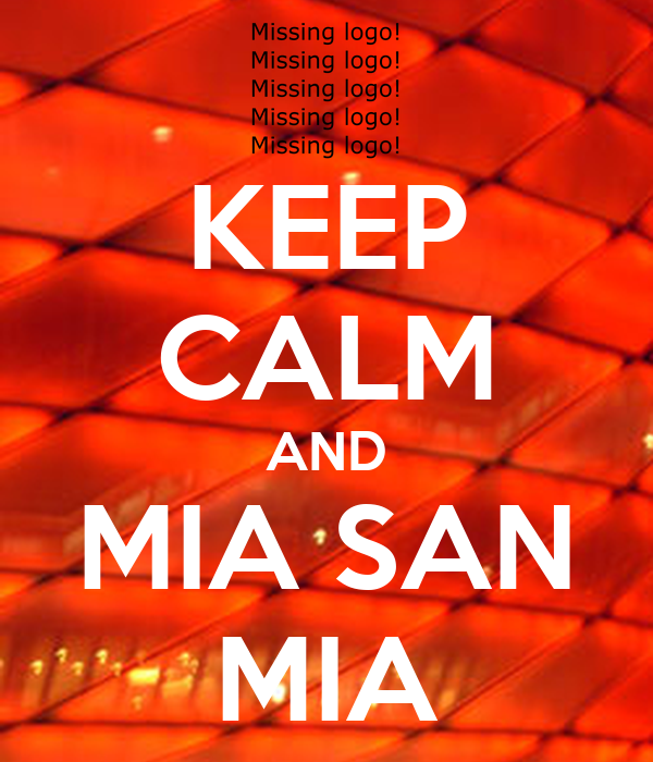 keep calm and mia san mia poster fabian keep calm o matic. Black Bedroom Furniture Sets. Home Design Ideas