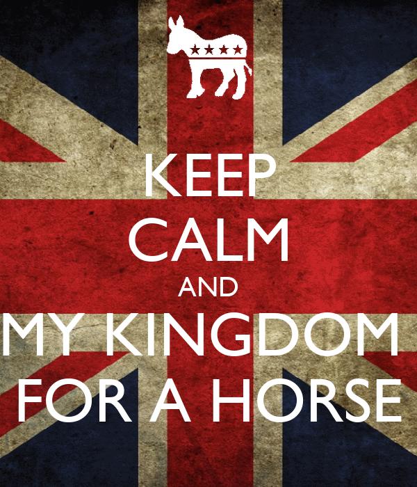 how to keep a horse kingdom come