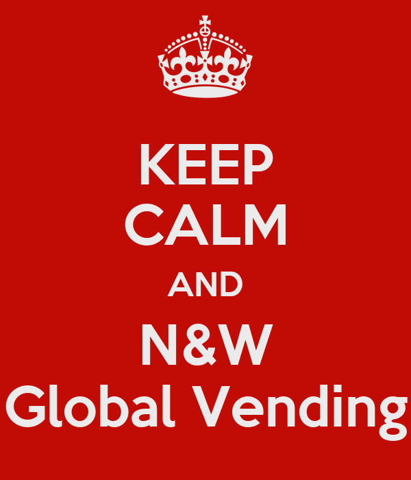 keep calm and n w global vending keep calm and carry on. Black Bedroom Furniture Sets. Home Design Ideas