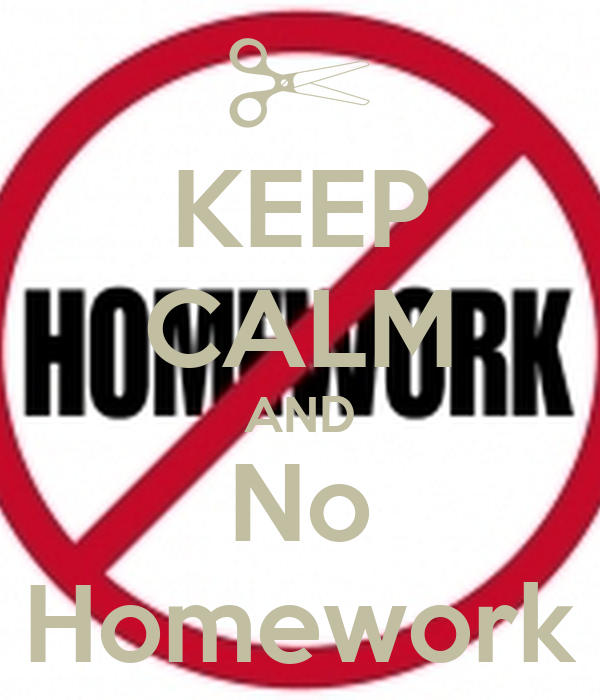 No homework petition