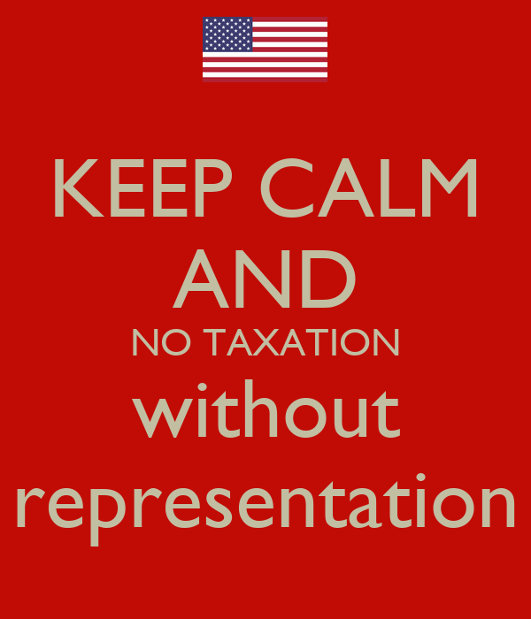 taxation and representation All vehicles newly registered with dc dmv receive end taxation without  representation tags automatically if you are obtaining new regular tags and do  not.