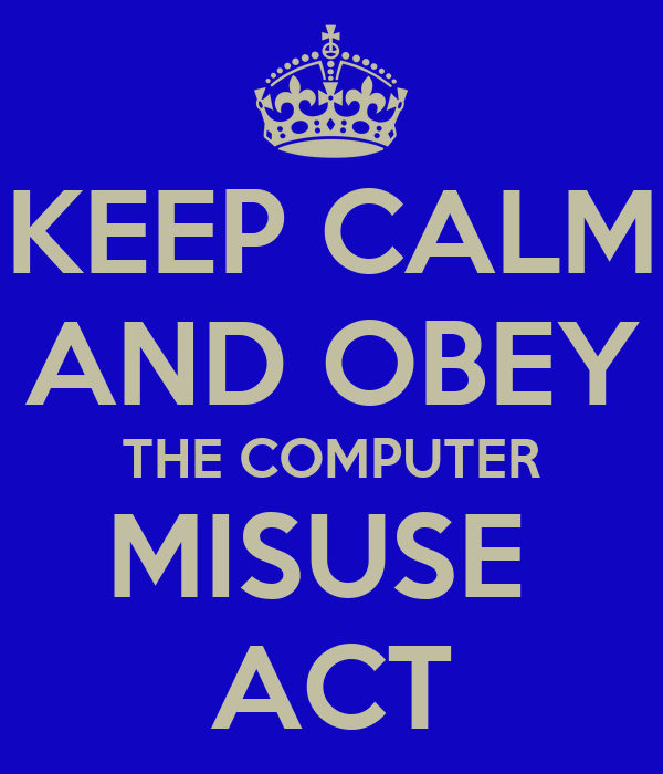 computer misuse act 2 offence 1 unauthorised access to computer material this is the lowest level of offence and is one that many of us might be guilty.